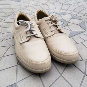Hush Puppies Bounce Tan Leather Comfort Oxfords 12